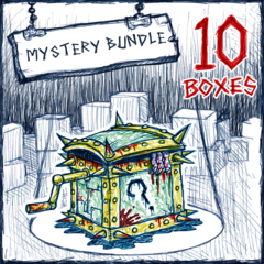 10 Mystery Boxes для Drawn to Death™