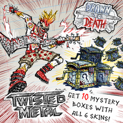 ВРЕМЕННОЕ ПРЕДЛОЖЕНИЕ: облики Twisted Metal и 10 Mystery Boxes