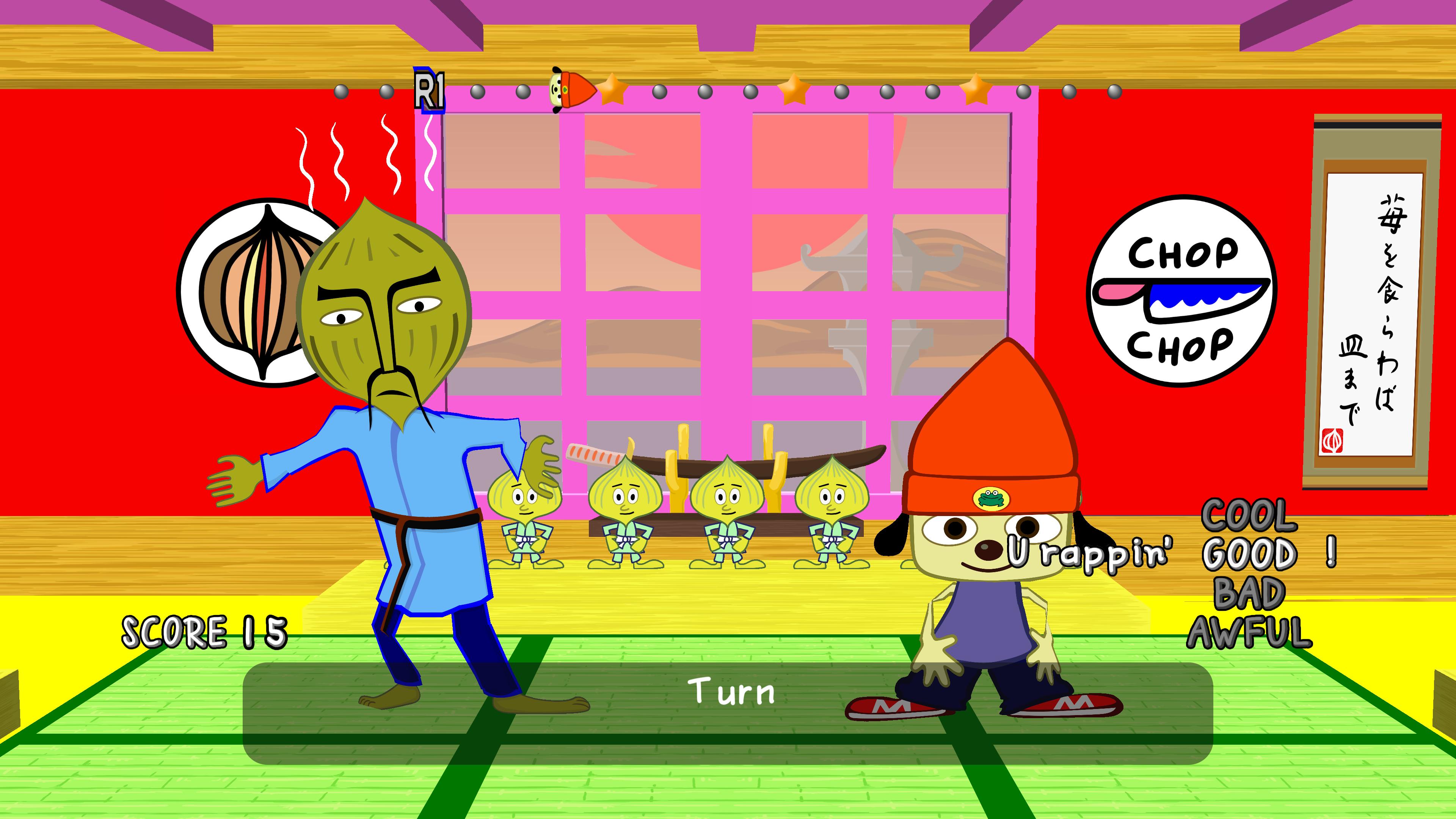 Скриншот №4 к PaRappa the Rapper Remastered