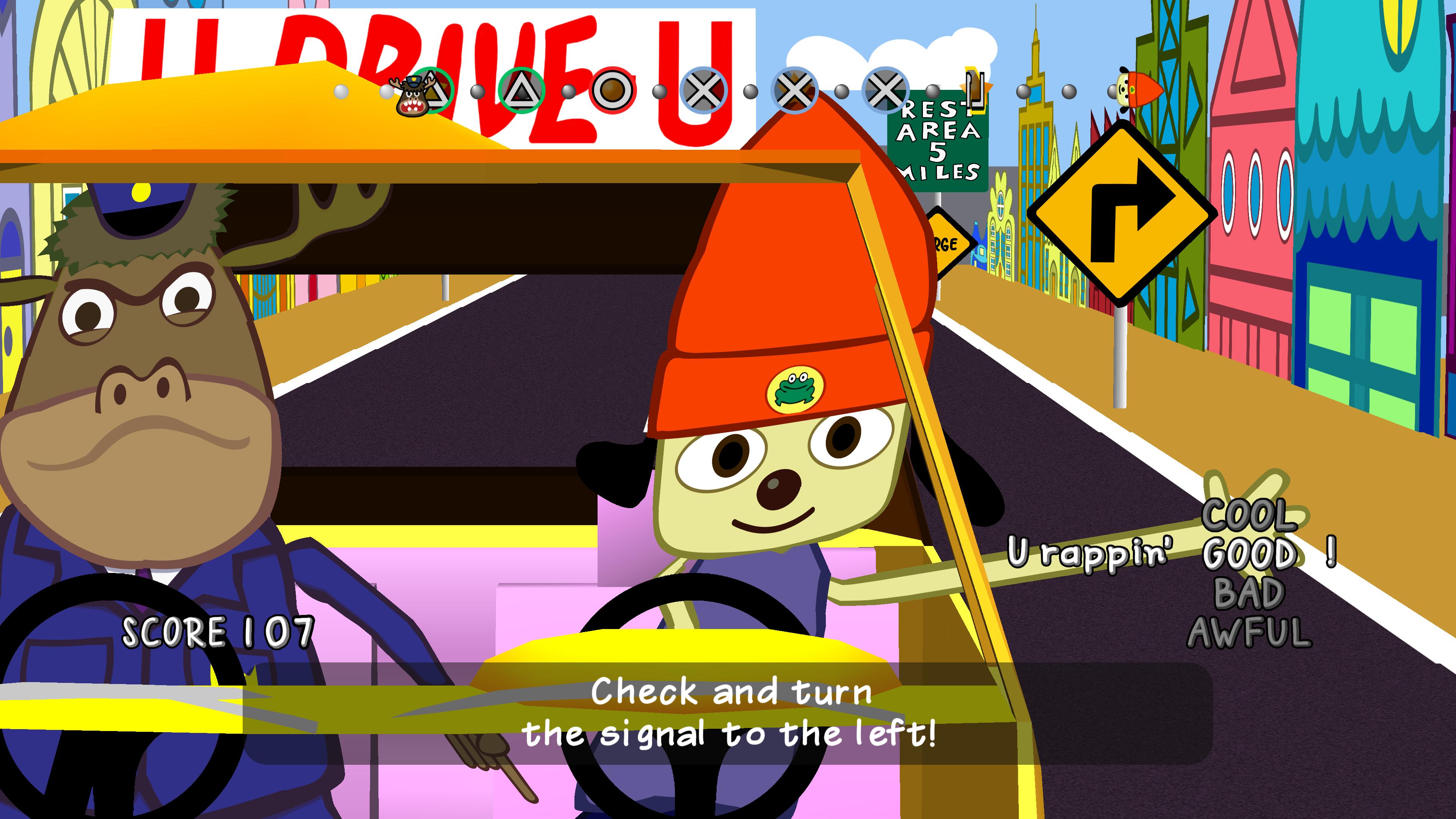 Скриншот №1 к PaRappa the Rapper Remastered