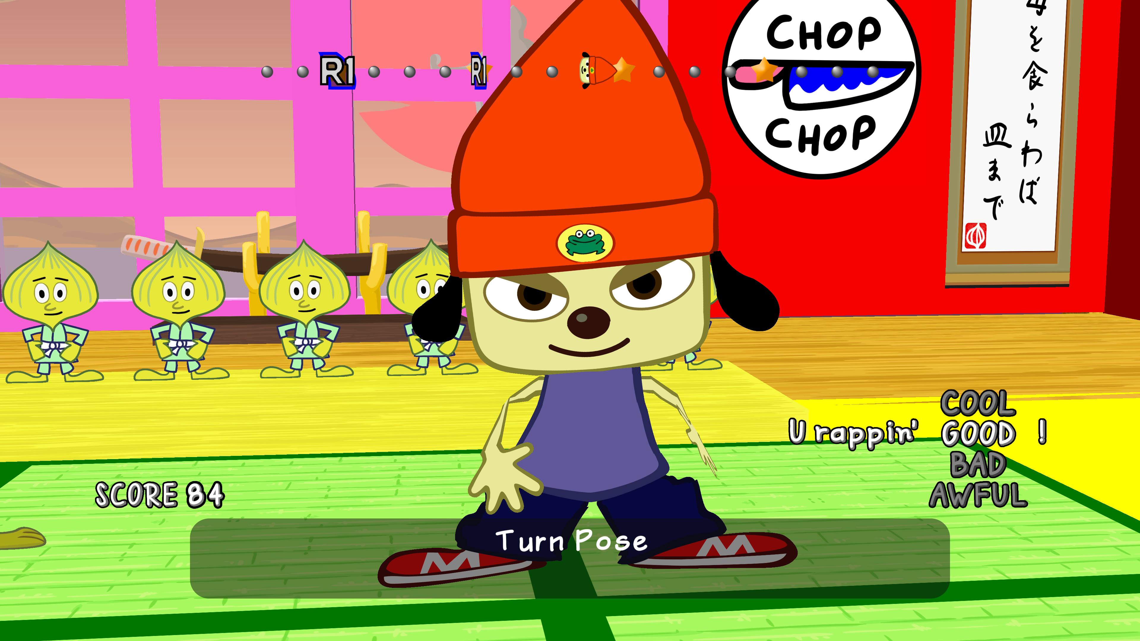 Скриншот №5 к PaRappa the Rapper Remastered