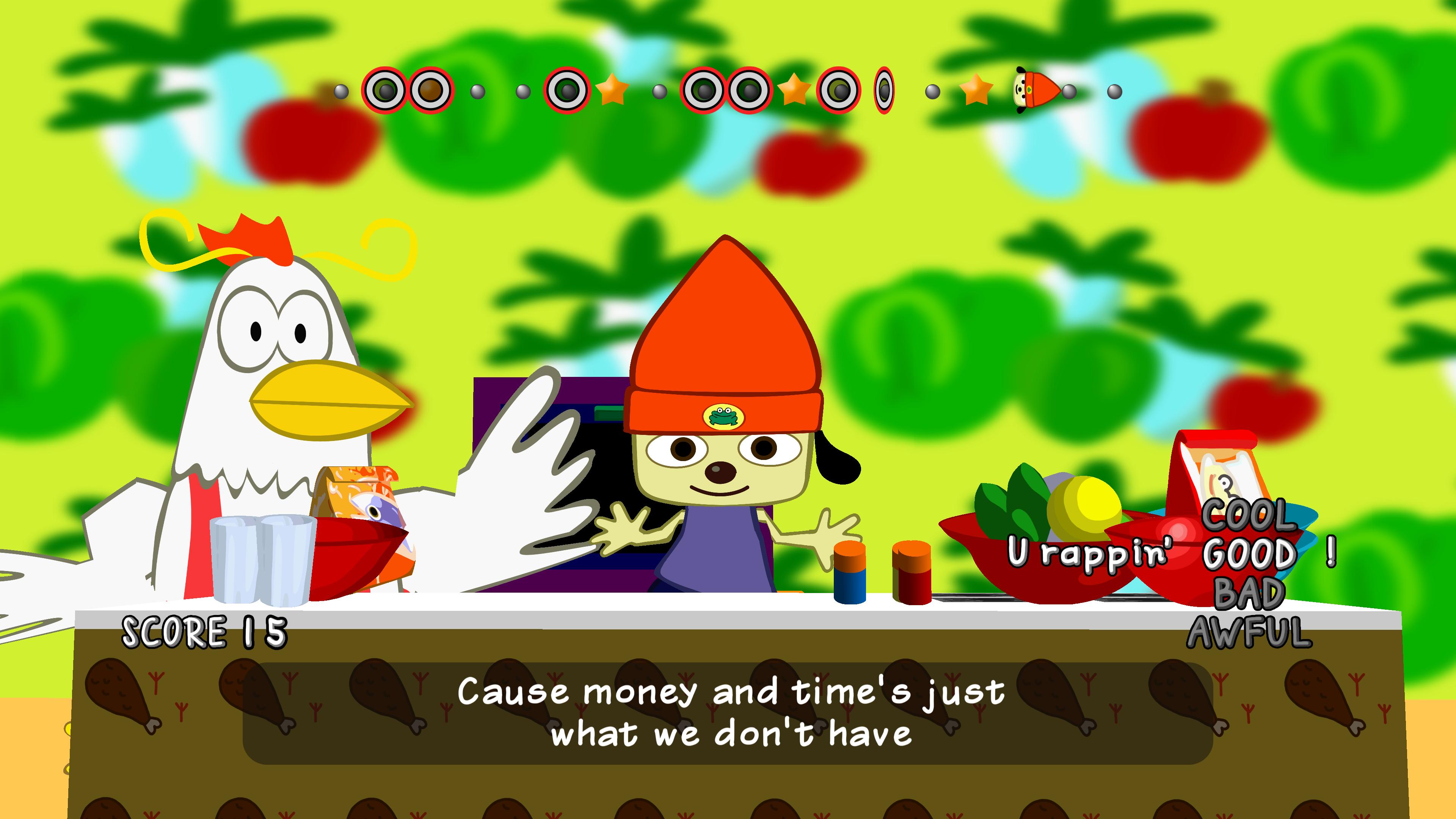 Скриншот №3 к PaRappa the Rapper Remastered