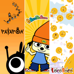 Collection remasterisée PaRappa the Rapper, LocoRoco, Patapon