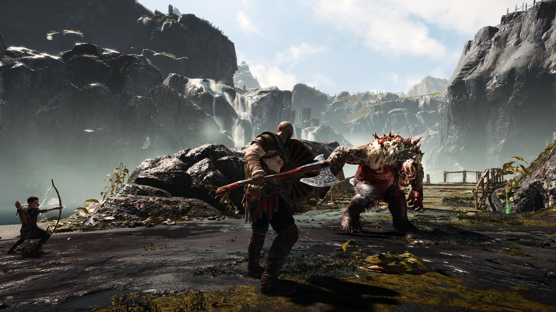 God Of War Schlägt Kräftig Bei Den Playstation Hits Zu Der