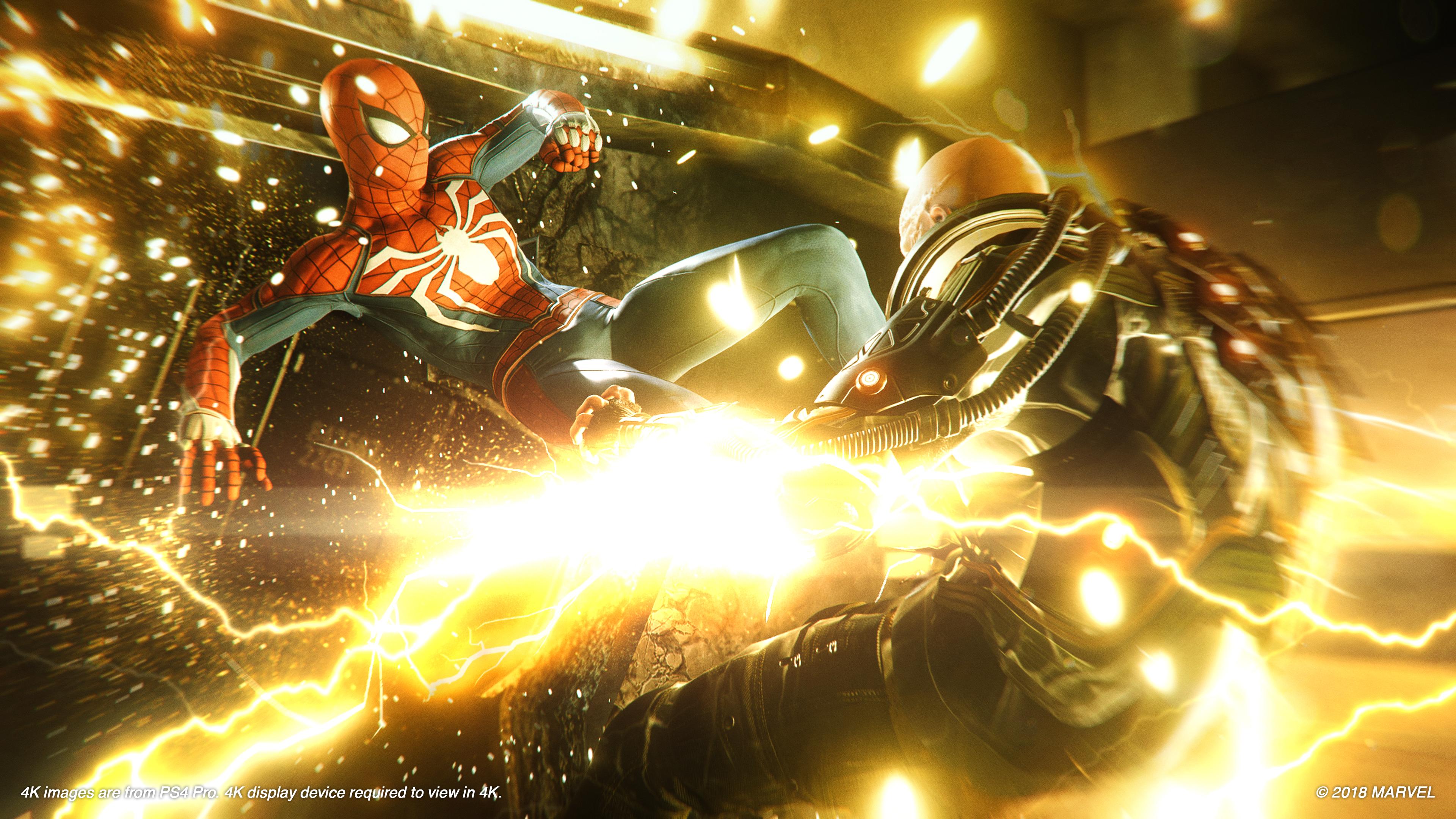 Прокат Marvel Человек-Паук на PS4
