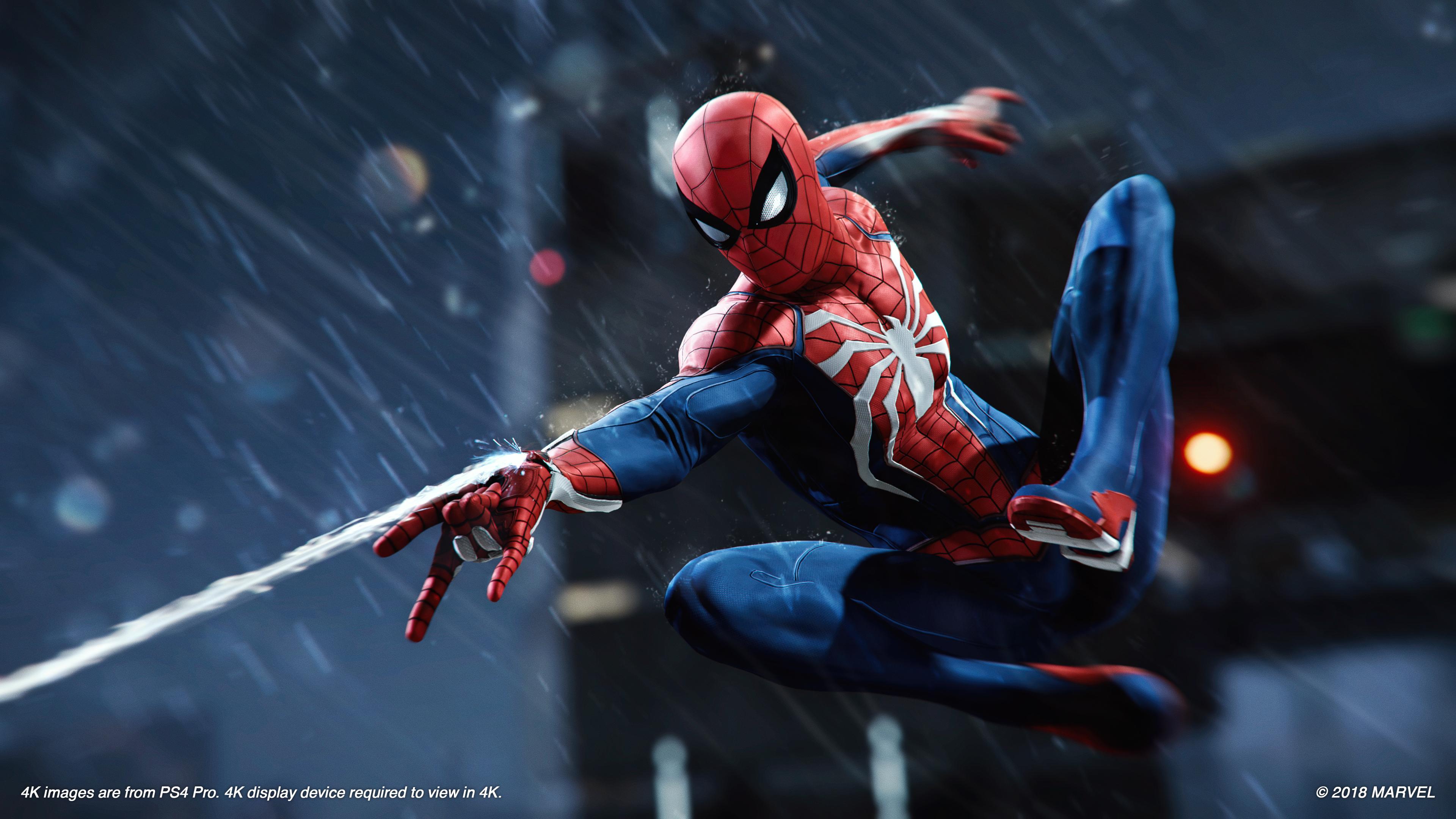 Znalezione obrazy dla zapytania spider man ps4