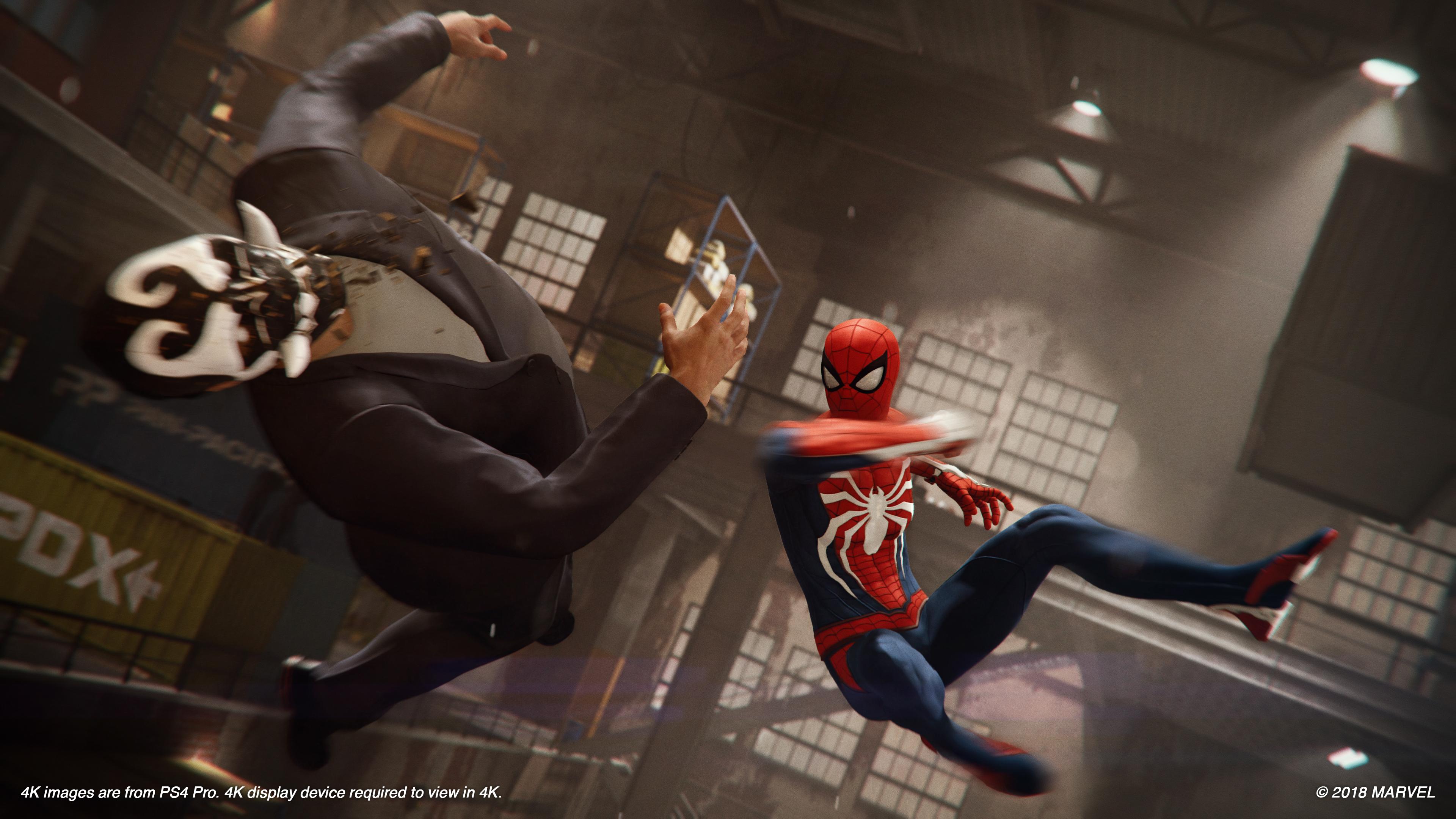 Скриншот №2 к Marvels Человек-паук