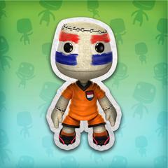 LittleBigPlanet™: костюм футбольного болельщика (Нидерланды)