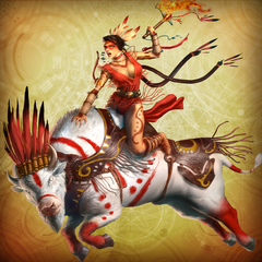 Девы-воительницы: комплект из аватаров и тем