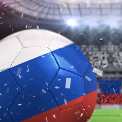 Tema di Russia Football 2014 Dynamic