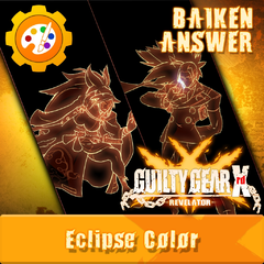 Additional Character Color - Eclipse(for Answer&Baiken)