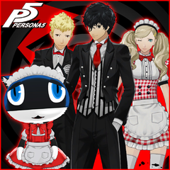 Persona 5 Maid and Butler Costume Set