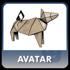 Heavy Rain Origami Dog Xmb Premium Avatar