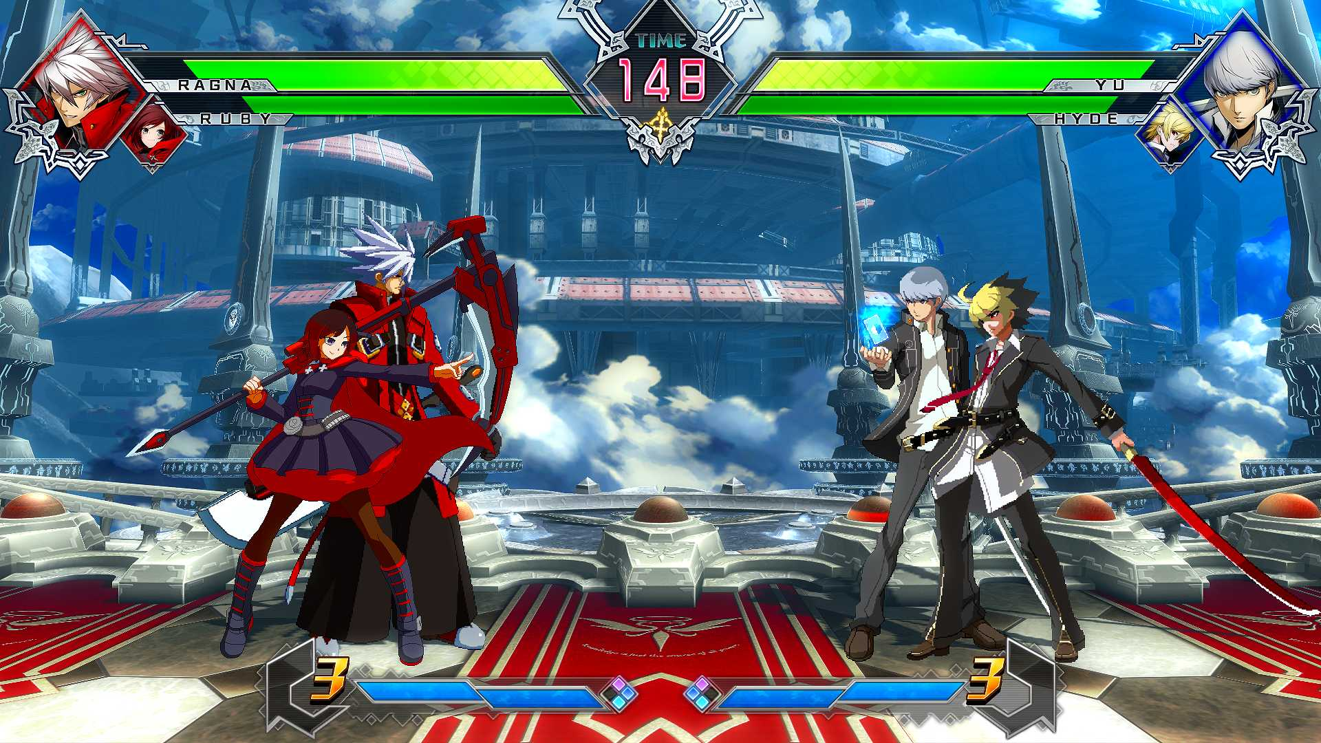Image result for blazblue cross tag battle