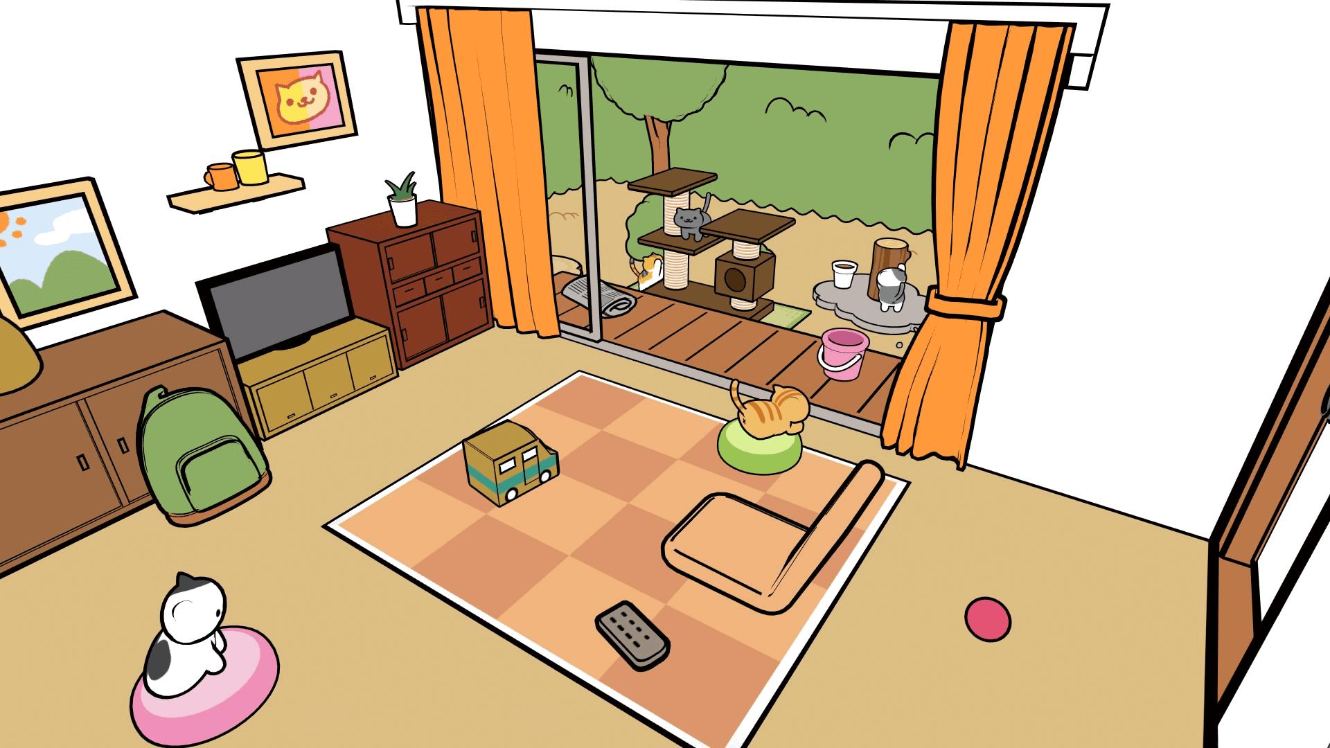 Скриншот №2 к Neko Atsume VR