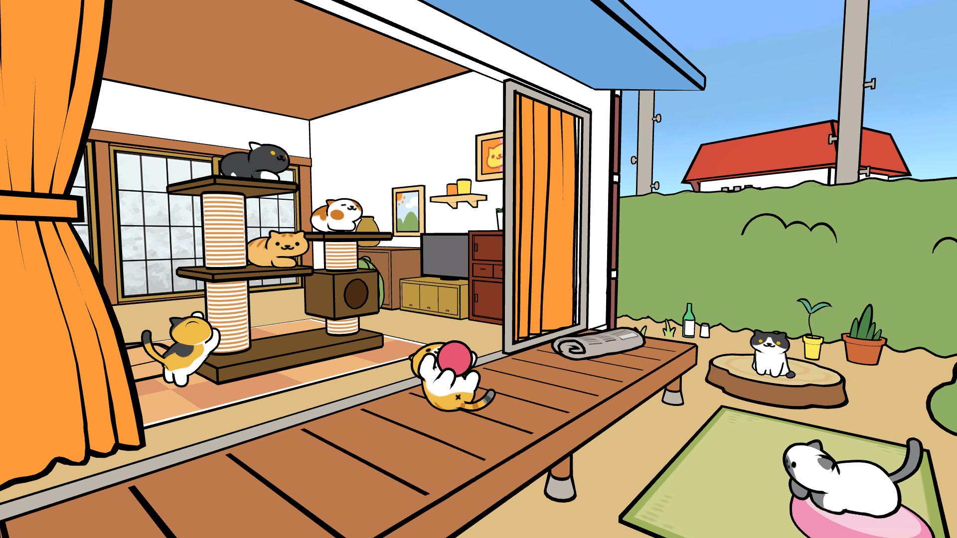 Скриншот №1 к Neko Atsume VR