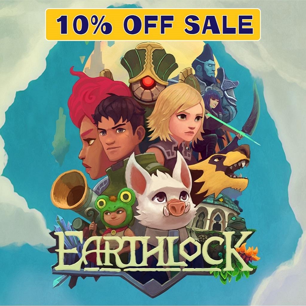 『Earthlock』日本語版発売記念キャンペーン10%OFF! 3/29まで