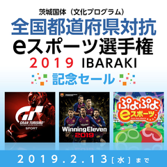 茨城国体(文化プログラム) 全国都道府県対抗eスポーツ選手権 2019 IBARAKI 記念セール