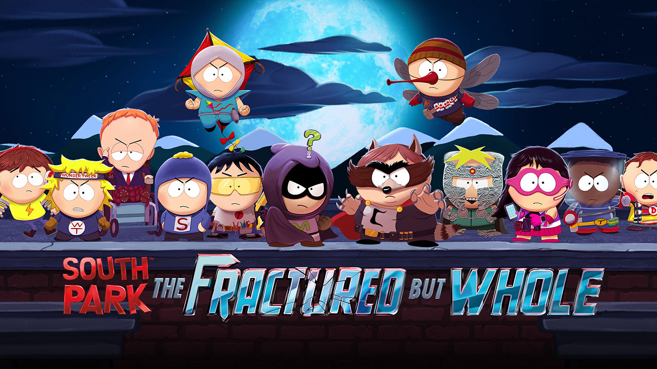Resultado de imagem para south park the fractured but whole