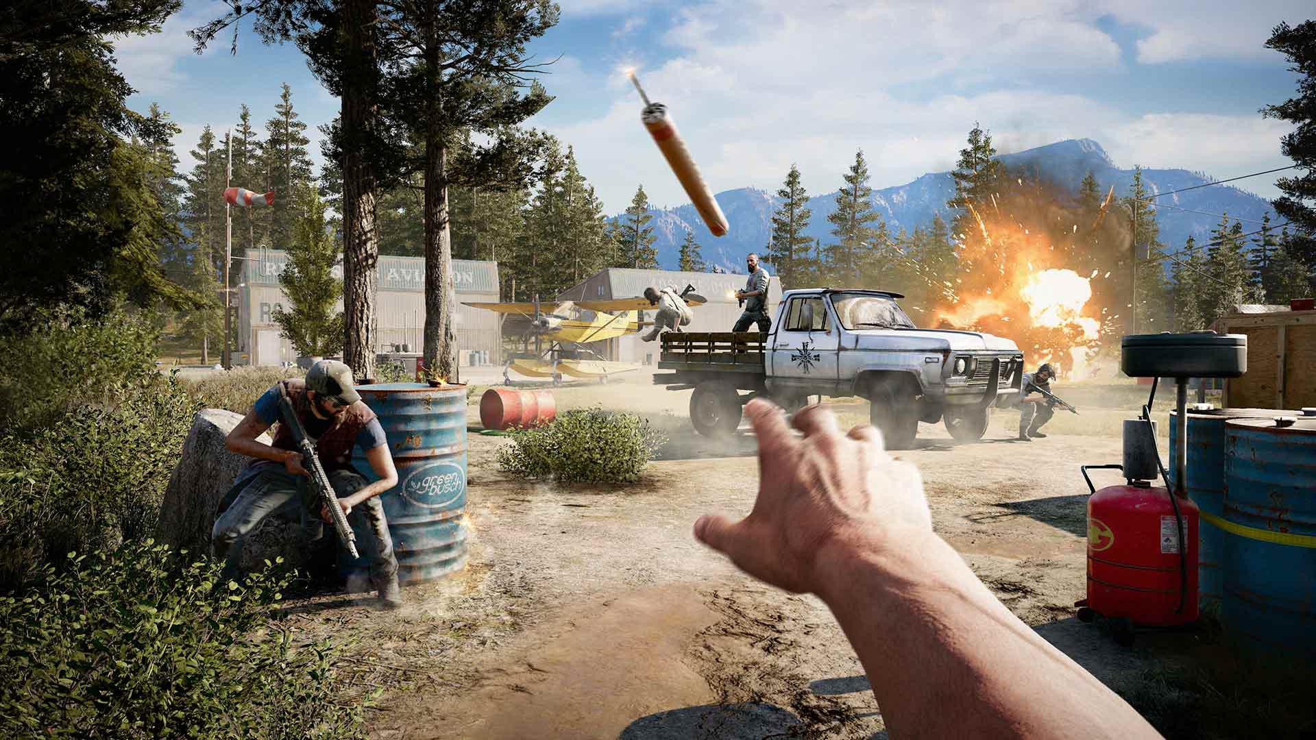 Скриншот №4 к Far Cry 5 Gold Edition