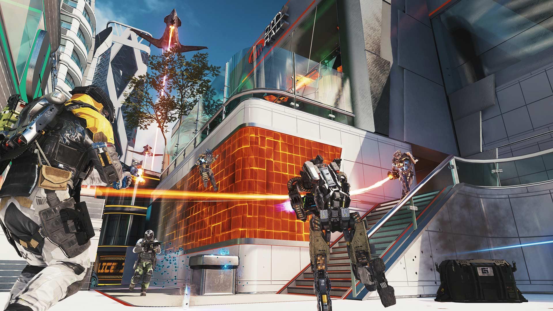 Neon – Un centro de entrenamiento virtual diseñado para la guerra urbana
