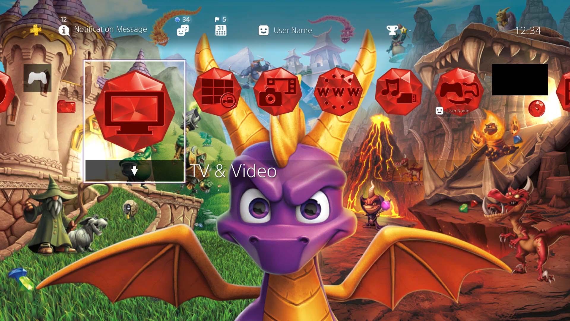 SRT_Firey_Return-PS4_Theme-Screenshot_01