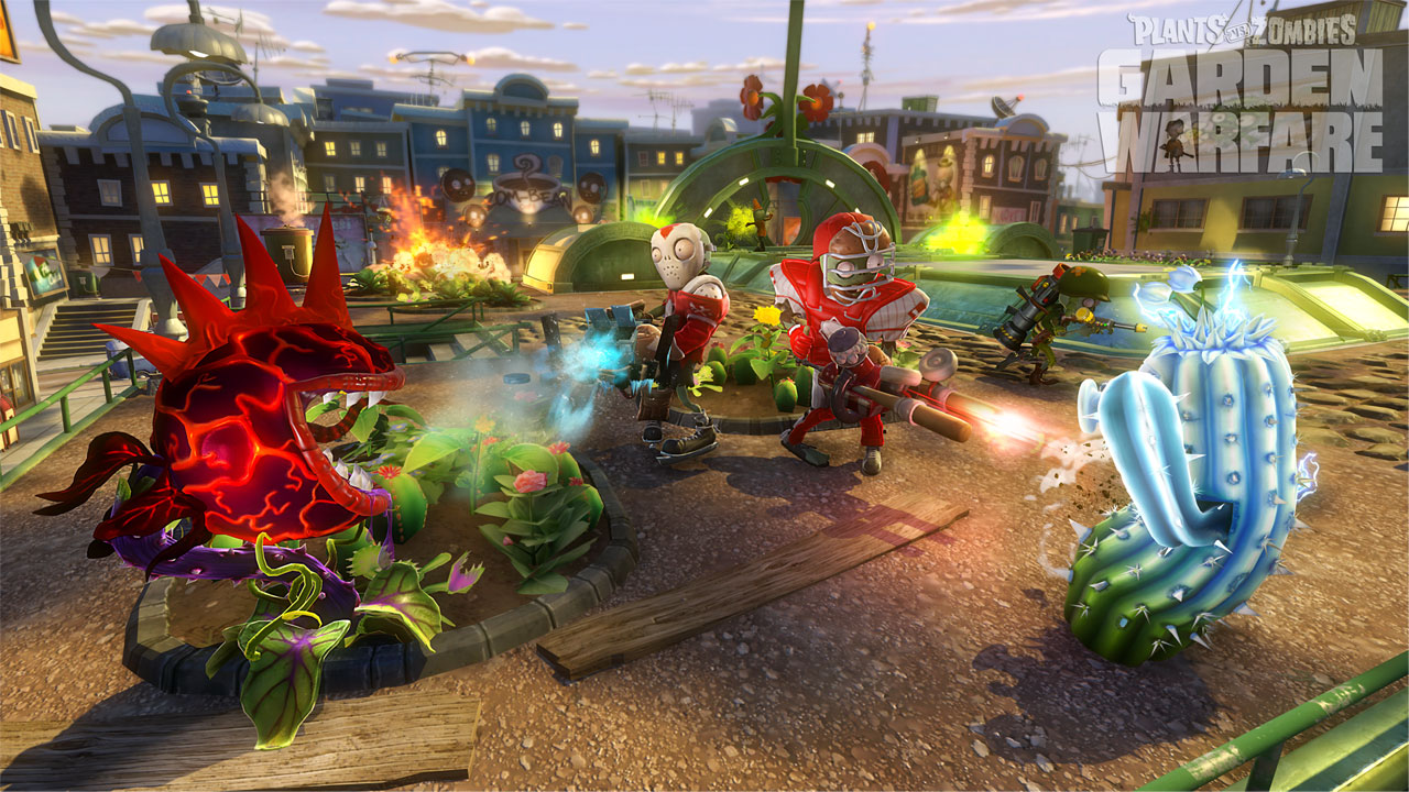 Plants vs. Zombies™ Garden Warfare on PS4 | Official PlayStation ...