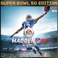 MADDEN NFL 16 - Super Bowl Edition