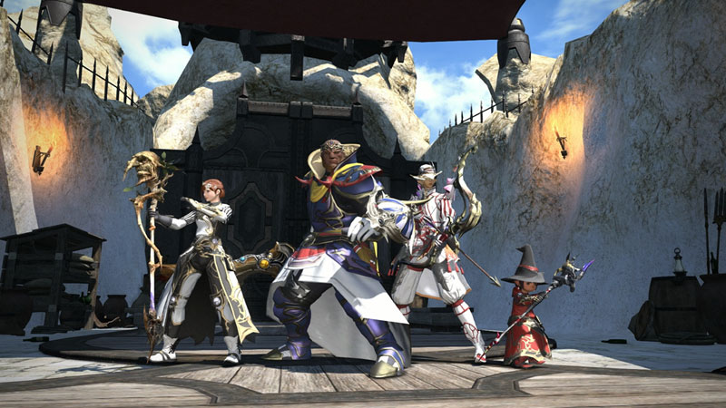 FINAL FANTASY® XIV Online Starter Edition on PS4 | Official