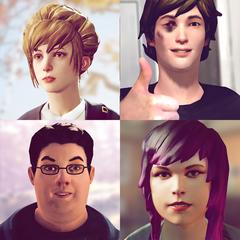 Life Is Strange -  Best Friends Avatar Pack