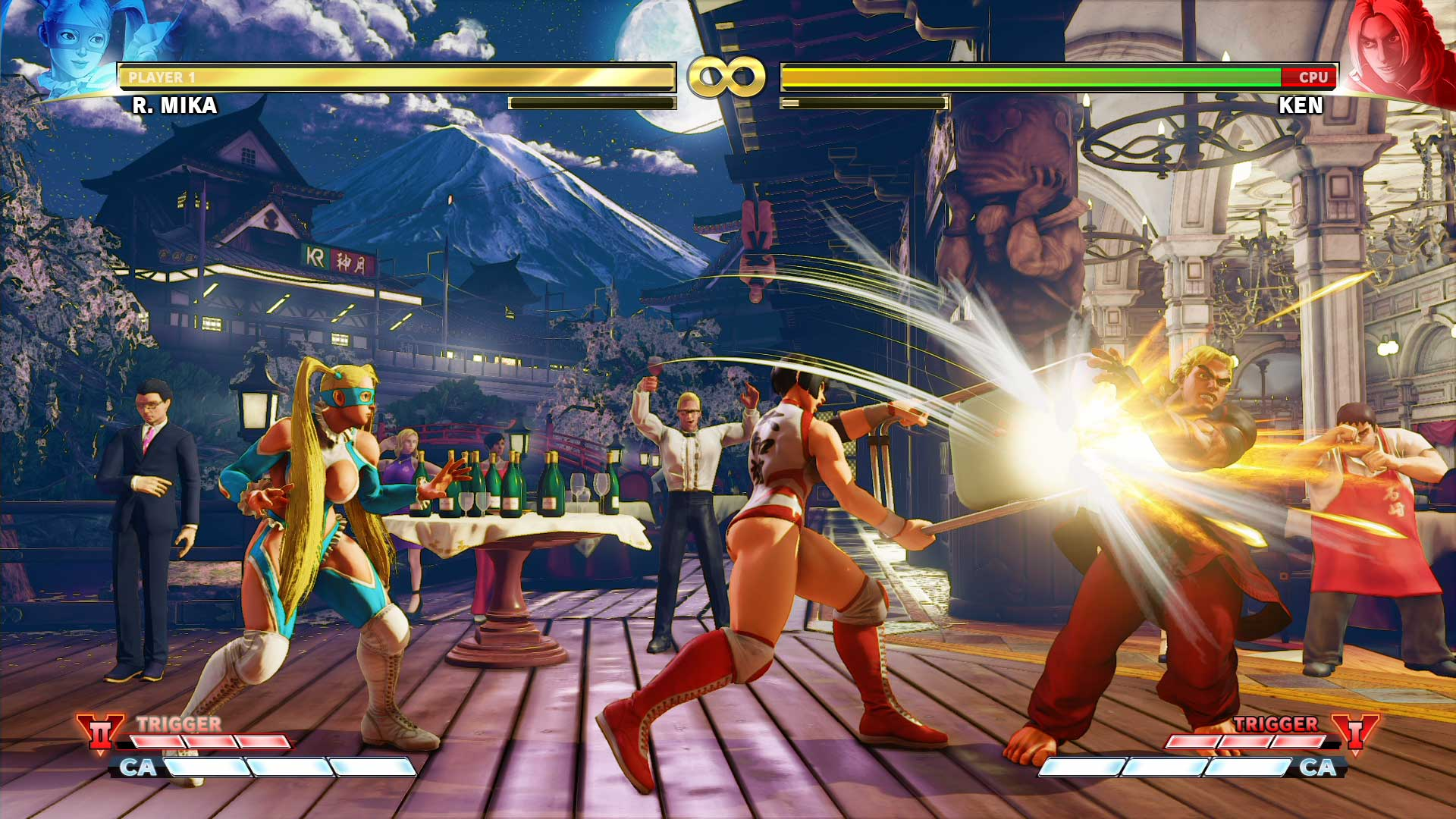 STREET FIGHTER V + Shinkiro Theme