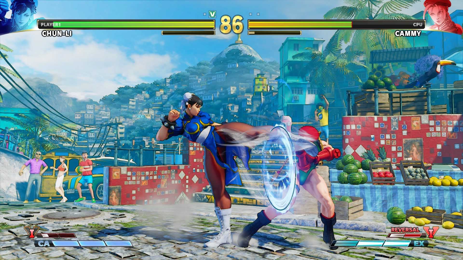 STREET FIGHTER V ARCADE EDITION + Shinkiro Theme