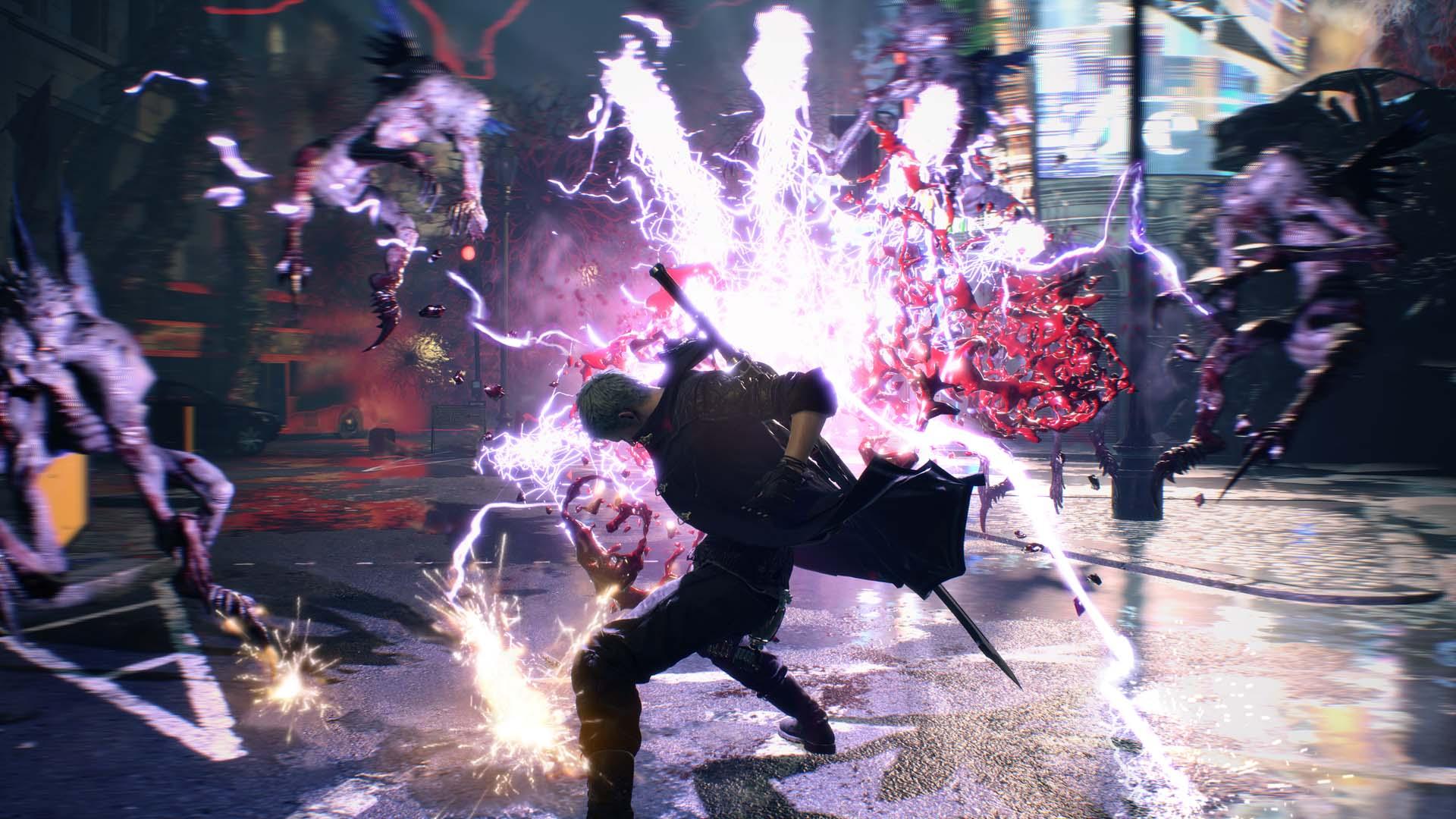Скриншот №2 к Devil May Cry 5 Deluxe + Vergil