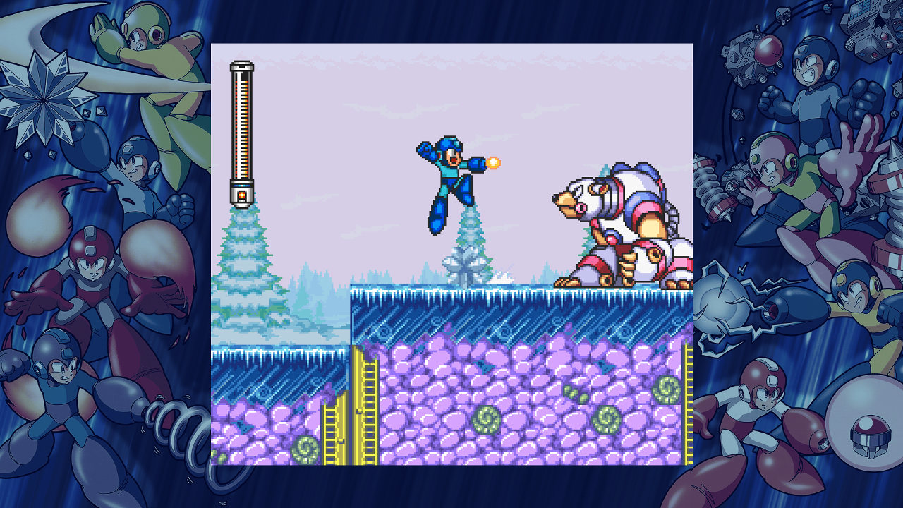 Banner do game Mega Man 11 para PS4