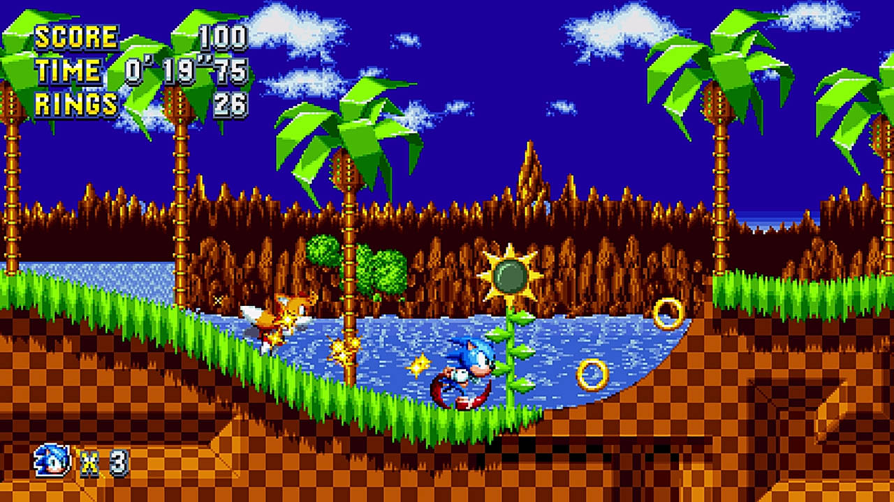 Test Sonic Mania Plus PS4 lageekroom
