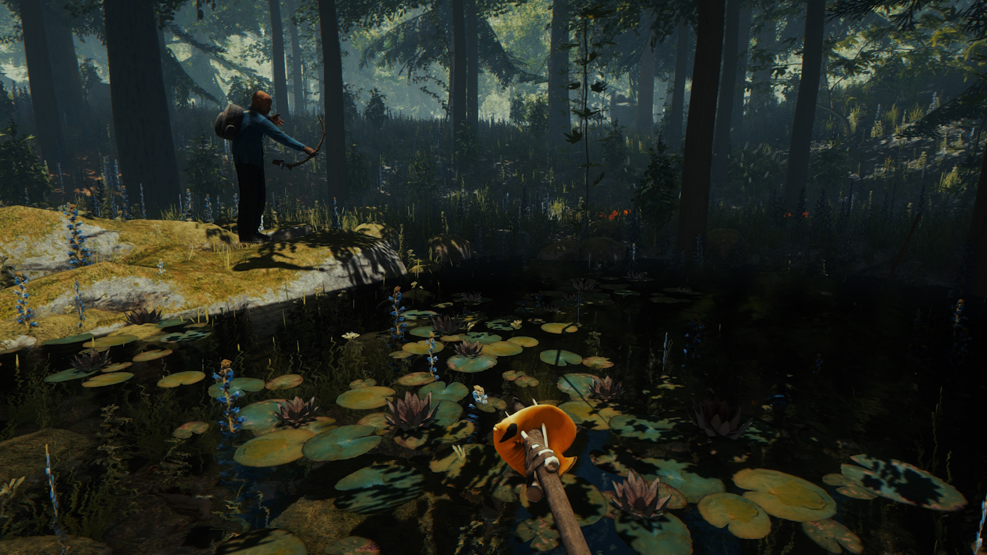 Banner do game THE FOREST para PS4