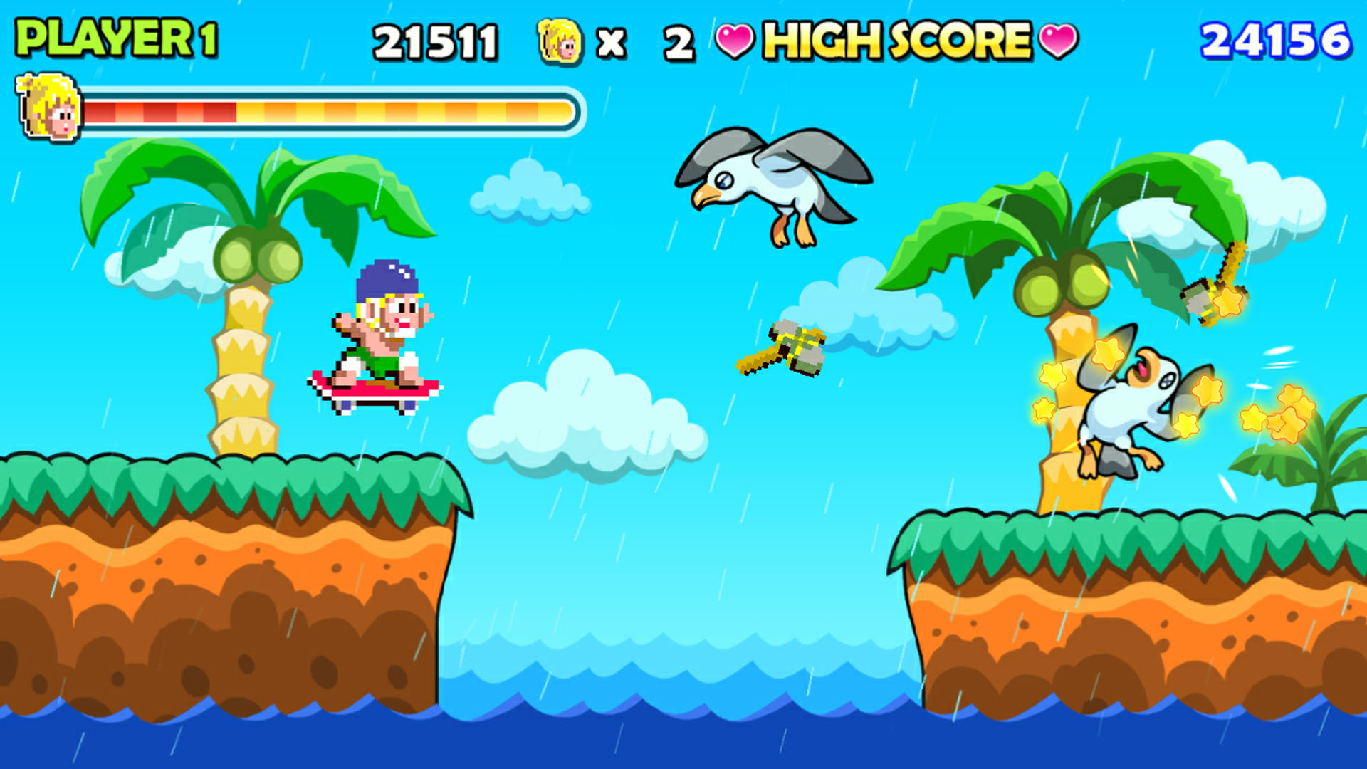 Wonder Boy Returns On Ps4 Official Playstation Store Us