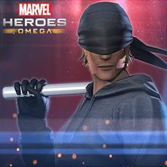 Marvel Heroes Omega -Traje de Hombre Sin Miedo de Daredevil