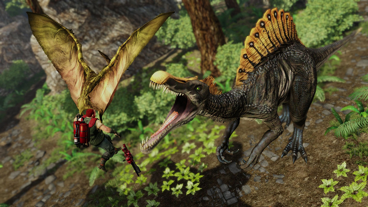 Primal carnage extinction on ps4 official playstation for Ps4 hunting and fishing games