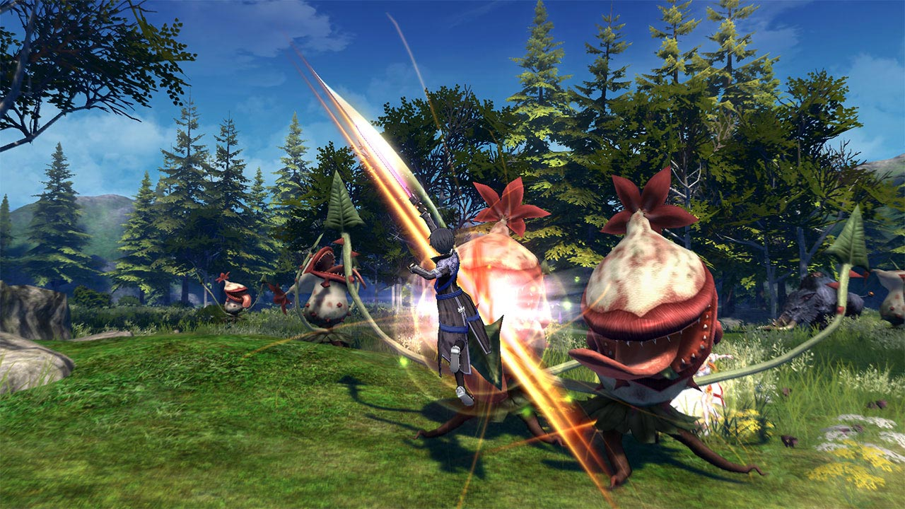Download Game Sword Art Online Hollow Realization Deluxe Edition PC