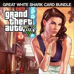 Grand Theft Auto V & Great White Shark Cash Card Bundle