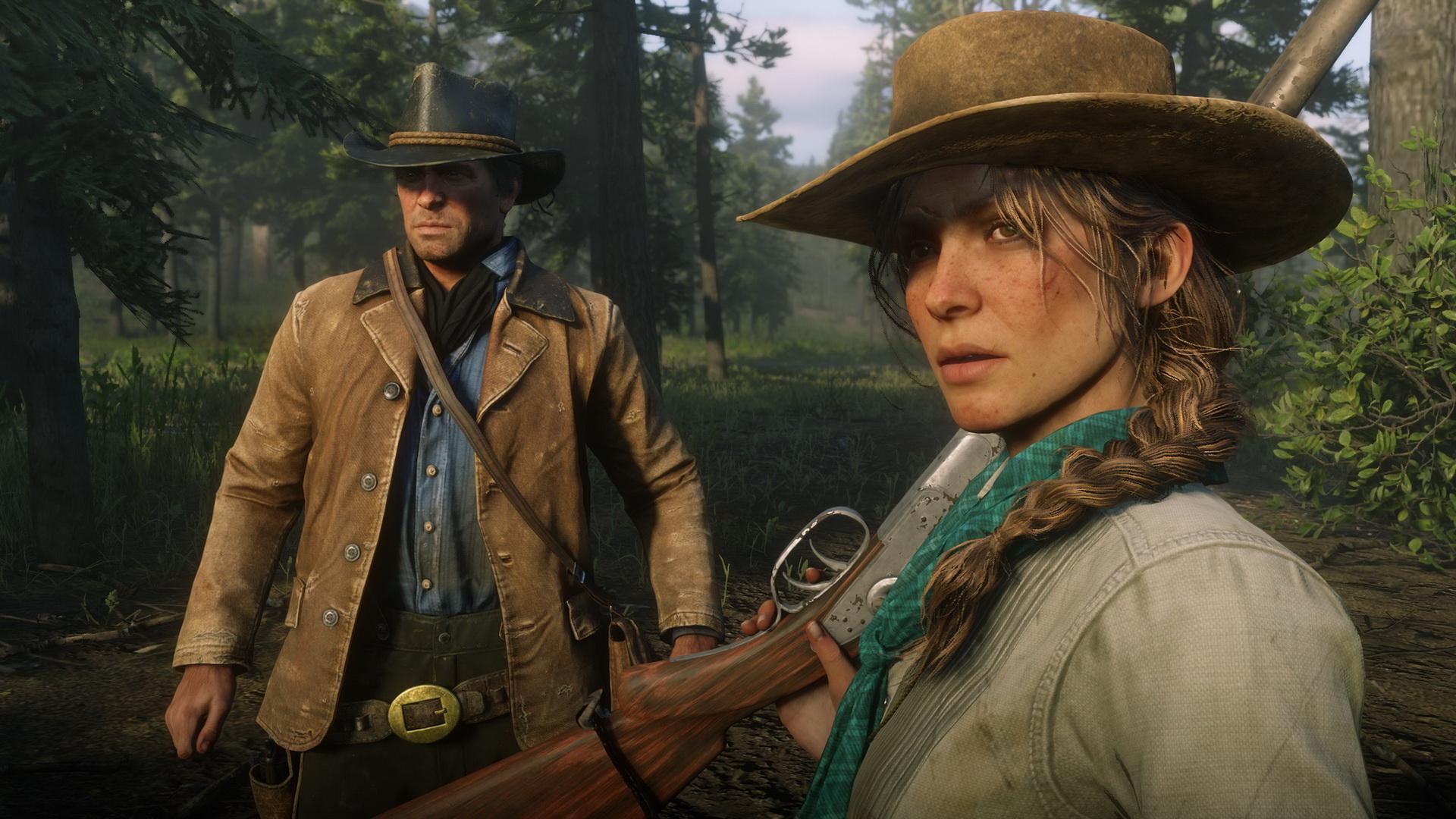 Скриншот №2 к Red Dead Redemption 2
