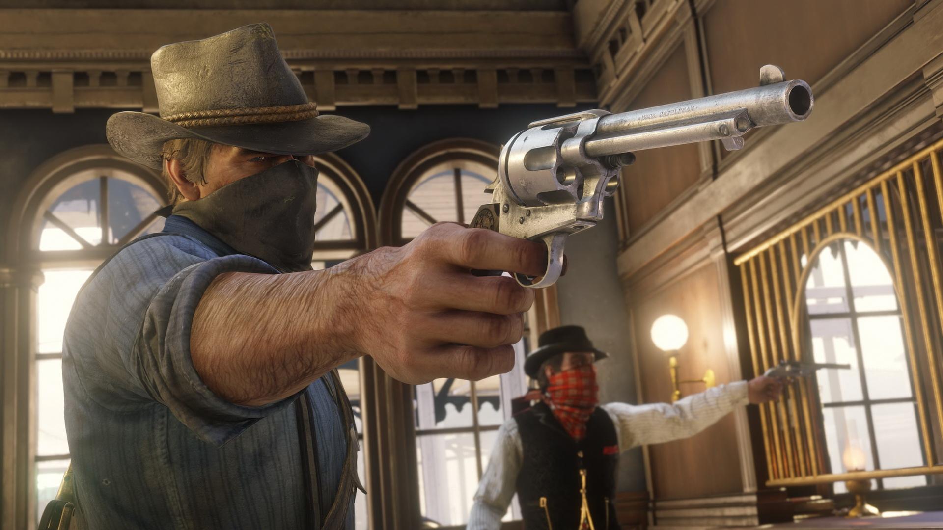 Скриншот №10 к Red Dead Redemption 2