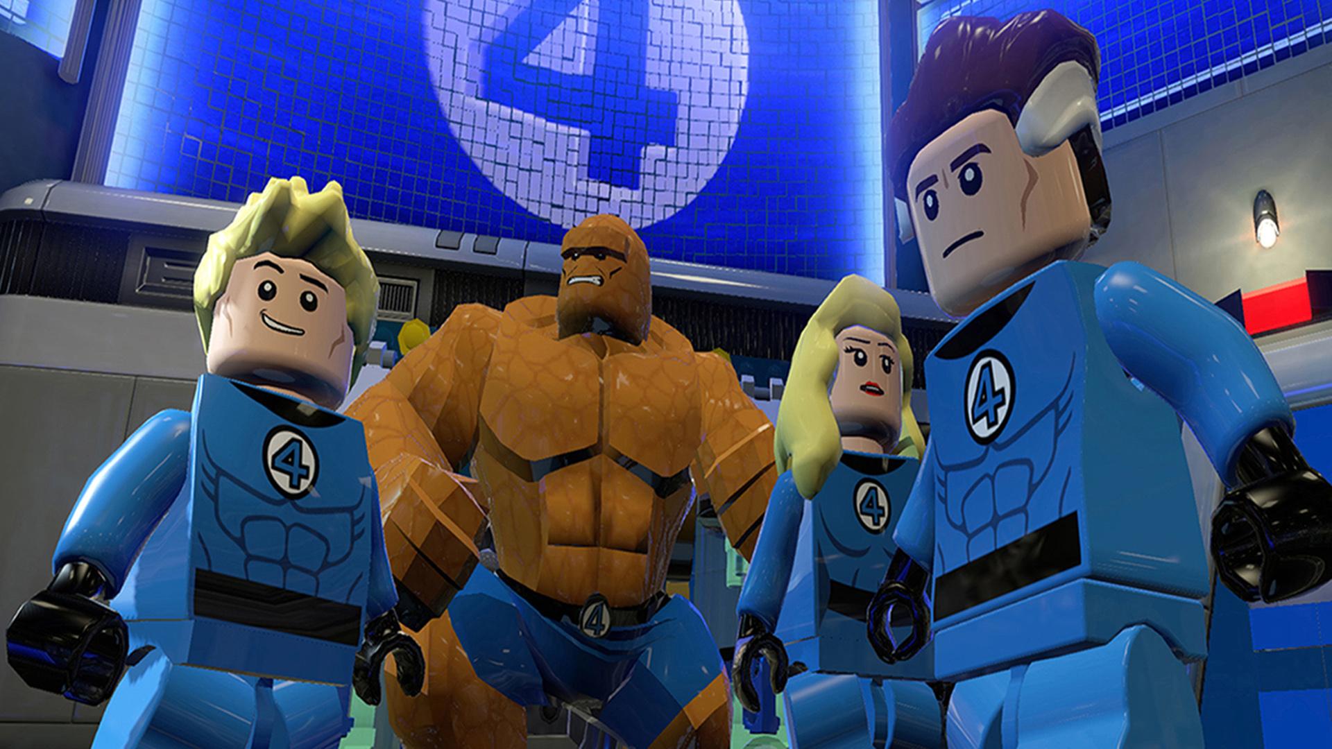 Marvel Super Heroes 60 Superhéroes: LEGO® Marvel™ Super Heroes On PS4