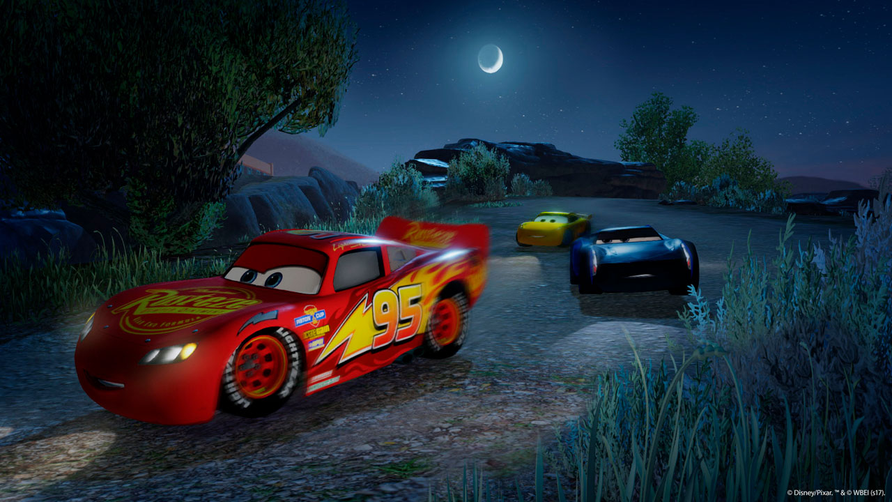 cars 3 driven to win on ps3 official playstation store us. Black Bedroom Furniture Sets. Home Design Ideas