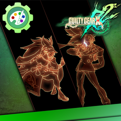 Guilty Gear Xrd -REVELATOR- Character Colors - Eclipse Set 2