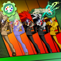 Guilty Gear Xrd -REVELATOR- Character Colors - Answer
