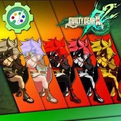 Guilty Gear Xrd -REVELATOR- Character Colors - Baiken