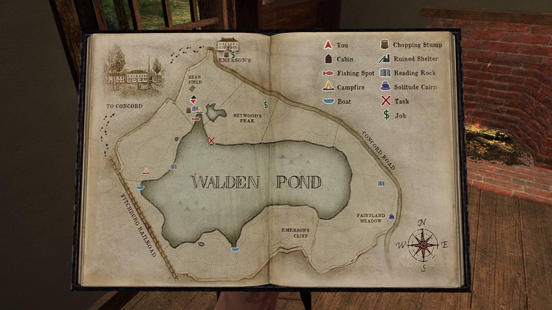 Скриншот №3 к Уолден игра