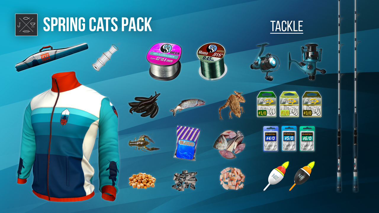 Fishing planet spring cats pack on ps4 official for Fishing planet ps4